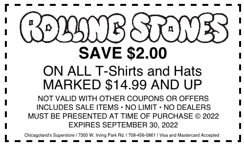 Coupons | Chicago's CD, Vinyl Record, DVD, and low price source
